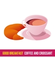 Breakfast icon gradient vector image