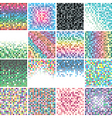 tile backgrounds vector image