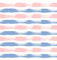 Hand painted striped pink and lilac vector image vector image