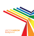 coloured line strip background vector image vector image