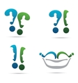 The set of chat icons vector image