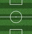Footbal field vector image vector image