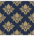 Dainty damask seamless floral pattern vector image vector image