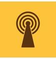 The wireless icon wifi symbol vector image