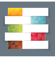 Modern Design template horisontal banners vector image