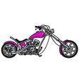 Violet chooper vector image