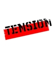 Tension rubber stamp vector image vector image