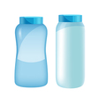 powder bottle set vector image