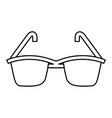 summer sun protection sunglasses vector image