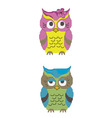 Babes owl vector image