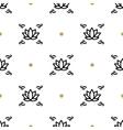 lotus seamless pattern yoga background vector image