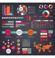 Huge set of infographic design elements vector image