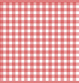 red patterns tablecloths stylish a vector image