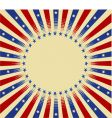 usa radial background vector image vector image