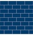 Snorkel Blue Brick Wall vector image