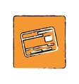 Money credit card vector image