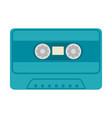 old music cassette vector image