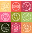 school logos vector image