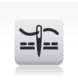 sew icon vector image vector image
