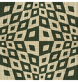 ornate geometric textile print vector image vector image