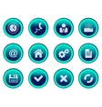 office button set vector image