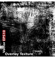 Grunge Overlay Texture vector image