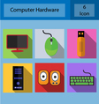 hardware computer vector image