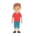 happy boy icon image vector image