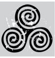 Celtic spiral vector image