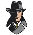 Private detective vector image