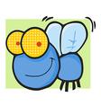 Fly Cartoon Mascot Character vector image vector image