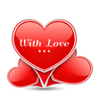 With Love vector image vector image