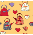 pots cups vector image