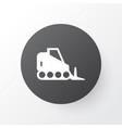 bulldozer icon symbol premium quality isolated vector image