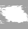 grey paint on white background vector image