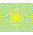 hot summer sun vector image