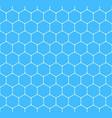 seamless pattern hexagon honeycomb texture vector image