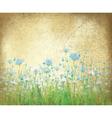 floral background paper vector image