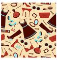 Fashion wallpaper vector image