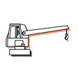 cane truck icon vector image
