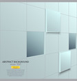 cubes background 2 vector image