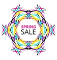 Bright Spring Sale Banner vector image