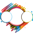 ink paint design artwork vector image vector image