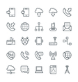 Communication Cool Icons 1 vector image