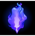 Abstract graphic fire vector image
