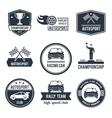 Auto Sport Label vector image
