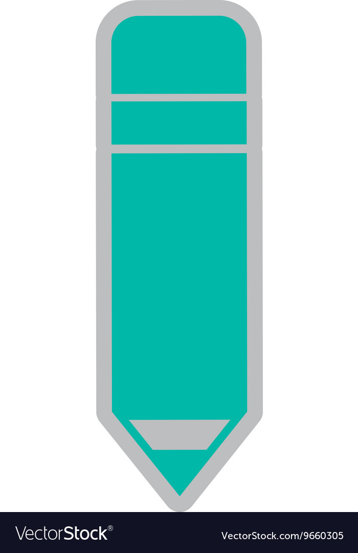 Pencil isolated icon design vector