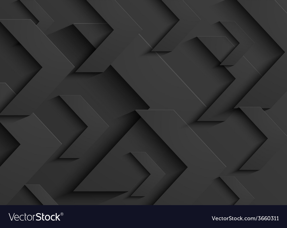 Black business abstract arrow background vector