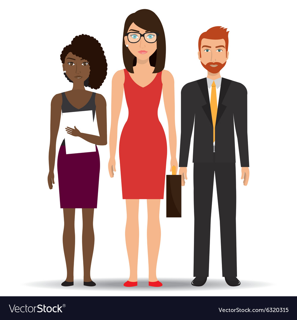 Business people and entrepreneur vector