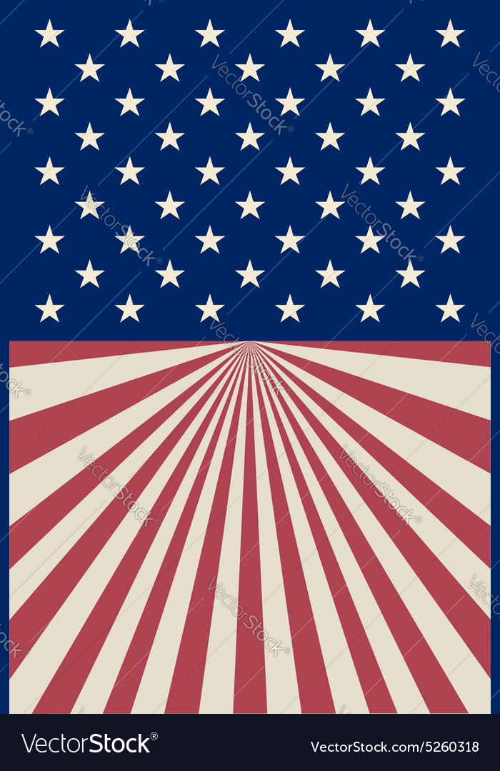 American striped background vector